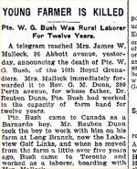 Coupure de presse – Source: The Toronto Star, 5 mai 1915.