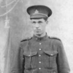 Photo de Kenneth Hobart Cain – Le Soldat Kenneth Hobart Cain, 156e Batallion le 28 décembre 1915, transférer au 2e Batallion (Ontario est) 1916, tué au combat le 11 novembre 1917 à Paschendael.