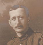 Photo of Thomas Campbell– Corporal Thomas Campbell 4th Batallion Canadian 1st Contingent ; photo is dated Christmas 1915