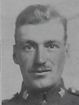 Photo of John Paul Sargeant– Pte Fred Carfrae --from The Christmas Echo published in London Ontario in December 1918  -- And in the Morning