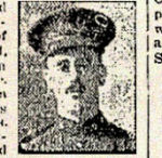 Newspaper Clipping– Pte. Samuel Chesney enlisted in the C.E.F. at Niagara-on-the-Lake on June 12th, 1915.  In honoured memory.