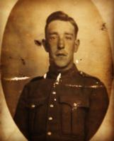 Photo of Reginald George Coad– On November 18, 1914, Reginald Coad enlisted with the 31st Battalion CEF. He was among the first young Canadians to volunteer for service in the Great War. Pte Coad arrived in England in the spring of 1915 and then embarked for France on June 9, 1915. He would serve with the 31st Battalion for nearly one year, seeing action throughout Belgium and France  On June 7, 1916 he was killed in action during operations in Ypres. As his remains were never recovered or identified, he is remembered on the Menin Gate Memorial. Reginald Coad was awarded the 1914/15 Star, British War Medal and Victory Medal. His mother, Selina received the Memorial Cross and death plaque in honour of her son.