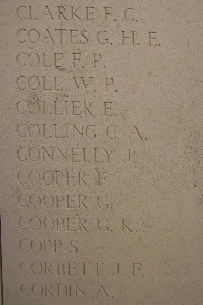 Inscription– Inscription on the Menin Gate, photo courtesy of Marg Liessens.