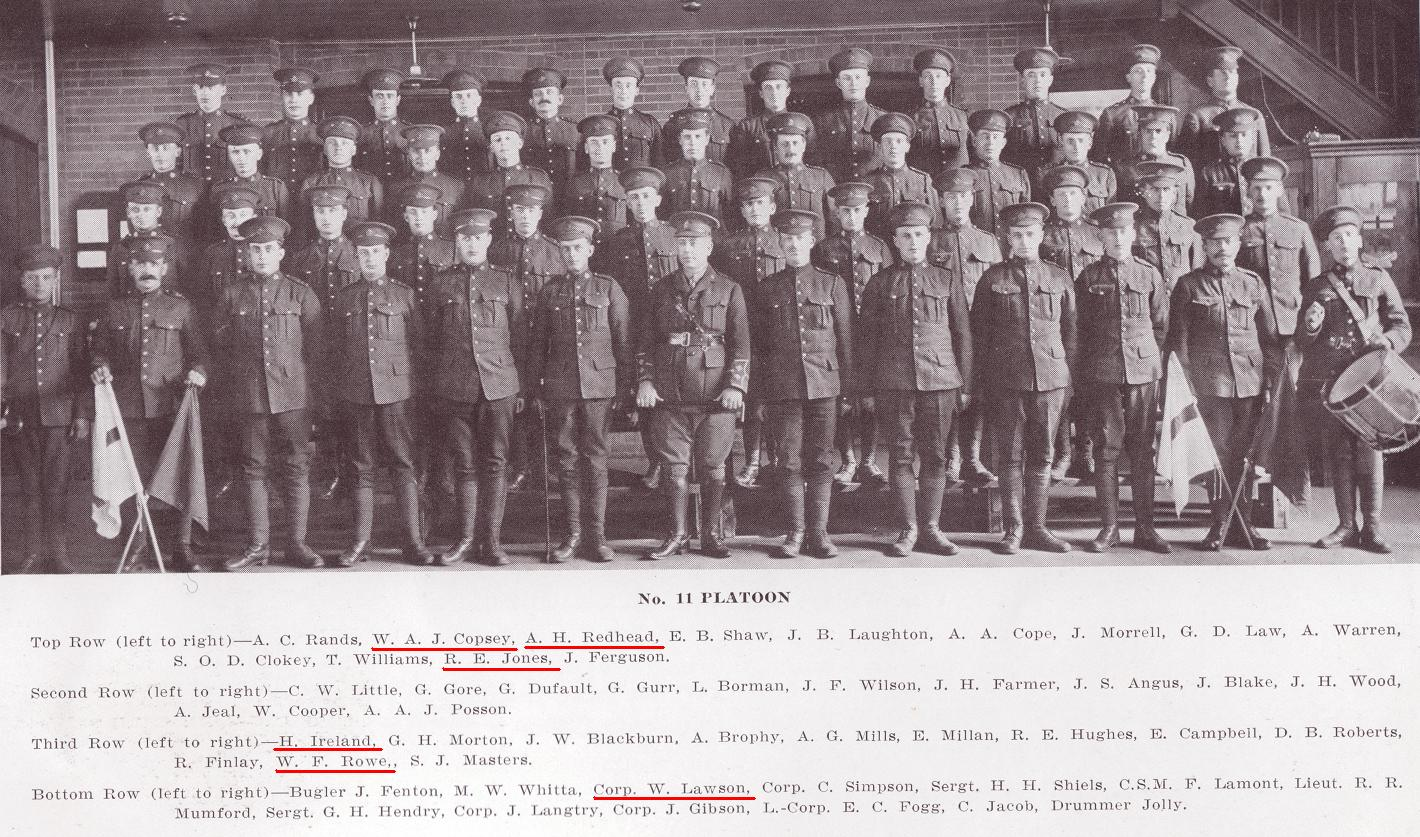 11th Platoon, C Company, 101st Battalion