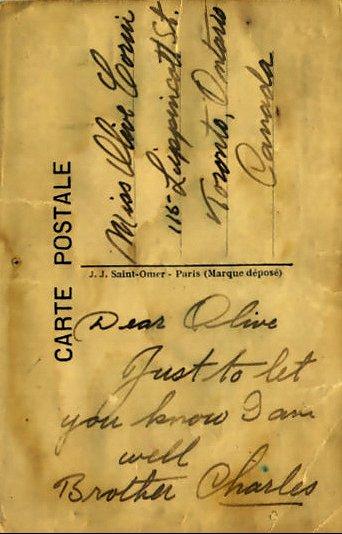 Post Card (back)