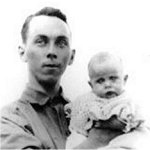 Photo of Charles William Archibald Corin– Charles William Archibald Corin holding his sister Marjorie Susan Corin.