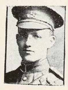 Photo of ARTHUR ELLIS CRABB– Photo from the National Memorial Album of Canadian Heroes c.1919. Submitted for the project, Operation: Picture Me.
