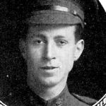 Photo of Russell Andrew Cross– From: The Varsity Magazine Supplement published by The Students Administrative Council, University of Toronto 1916.   Submitted for the Soldiers' Tower Committee, University of Toronto, by Operation Picture Me.
