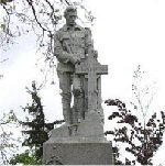 Milton Ontario War Memorial– Names listed on the Milton Ontario War Memorial.