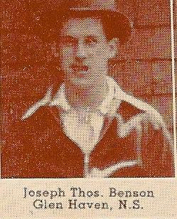 Photo de Joseph Thomas Benson