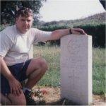 Gravemarker for Herbert Mitchell