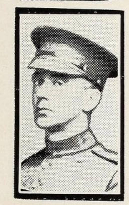 Photo of ALBERT FRYER– Photo from the National Memorial Album of Canadian Heroes c.1919. Submitted for the project, Operation: Picture Me.