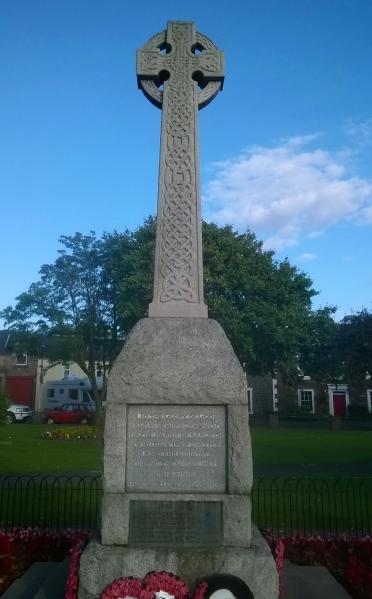 War Memorial– Photo courtesy of Craig Robertson, Edinburgh