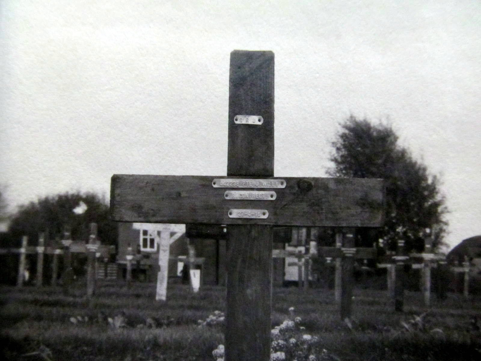 Temporary Grave Marker– Submitted for the project, Operation: Picture Me