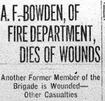 Newspaper Clipping– Photo Calgary Daily Herald June 13, 1916.