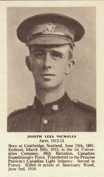 Photo of Joseph Lees Nicholls