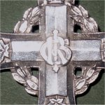 Memorial Cross– Memorial cross sent to next of kin of Sergeant Newman. The cross has been broached. It was aquired at a military fair in Kent, England by me in April 2005