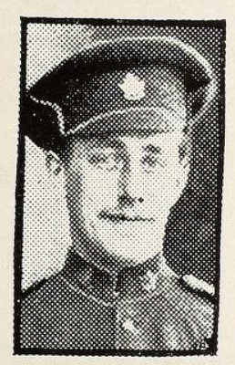 Photo of CARLTON HARVEY WESLEY ROSS– Photo from the National Memorial Album of Canadian Heroes c.1919. Submitted for the project, Operation: Picture Me.