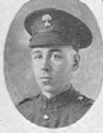 Photo of George Edwin Thompson– In memory of the men who served with the 87th Battalion CEF. Submitted for the project, Operation: Picture Me