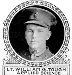 Photo of William Tough– From: The Varsity Magazine Supplement Fourth Edition 1918