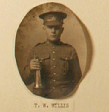 Photo of THOMAS GEORGE WILLIS– Willis, Thomas George 651471 via Kincardine RCL and Bruce Remembers.  Contributed by E.Edwards www.18thbattalioncef.wordpress.com