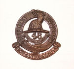 Badge– 15th Bn cap badge. Photo  BGen G. Young 15th Battalion Memorial Project Team.