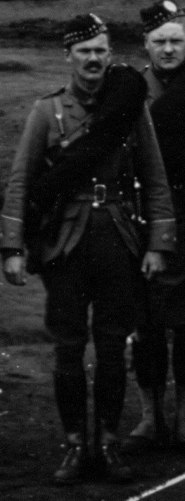 Photo of Trumball Warren– Captain T. Warren, second-in-command No. 4 Company, 15th Battalion CEF (48th Highlanders of Canada.